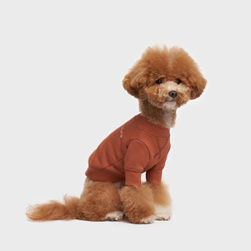 Crew Neck Dog Sweatshirt