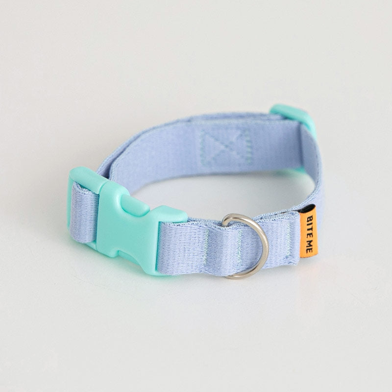 Candy Crayon Dog Collar in light-blue