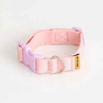 Candy Crayon Dog Collar in light-pink