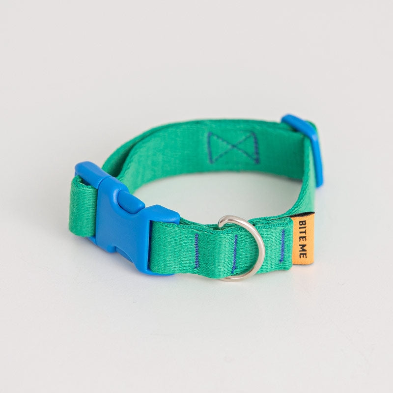 Candy Crayon Dog Collar in green