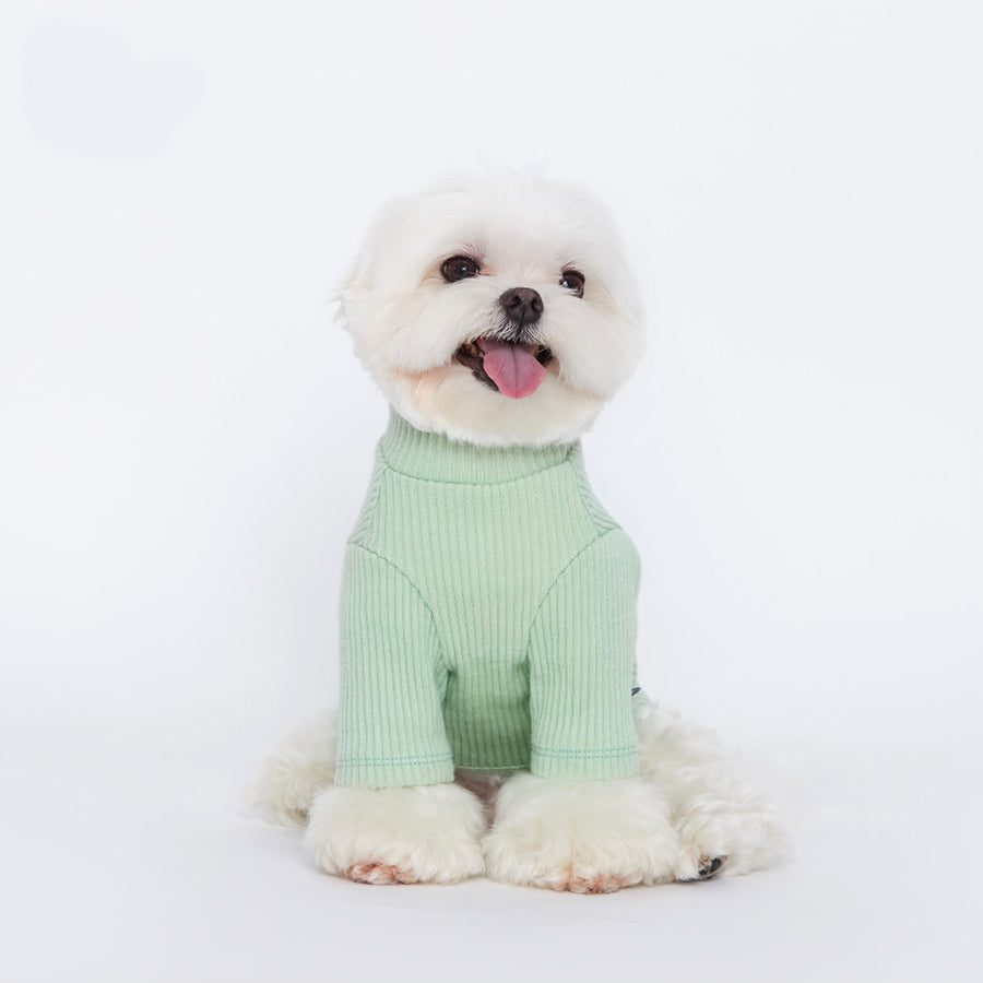 small dog lightly fuzzy fleece corduroy top