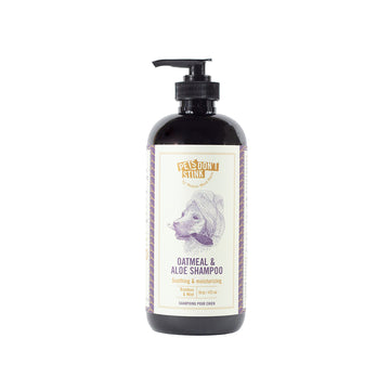 oatmeal and aloe shampoo for dogs