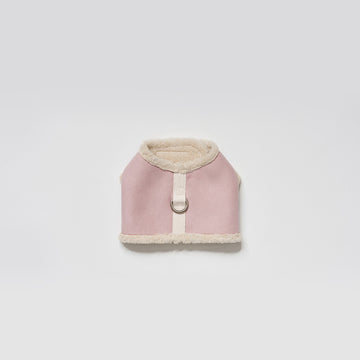 Shearing Walk Jacket harness in pale pink