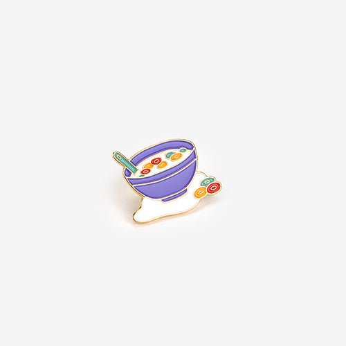fruit loops enamel pin