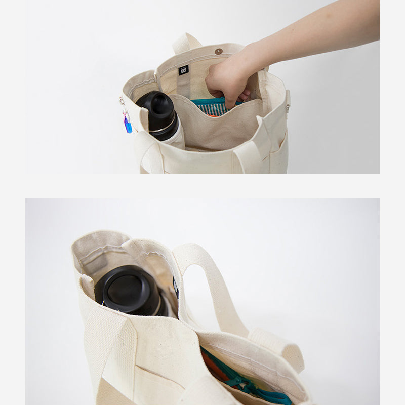 Dog walkie bag with compartment