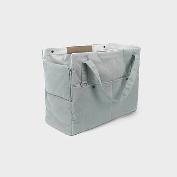 Howlpot day bag in blue stone