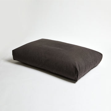 minimalist microfiber simple dog cushion