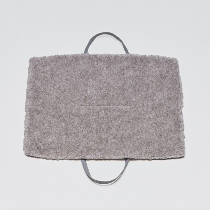 Travel Bed Tweed Taupe