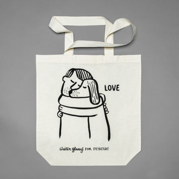 RESC7UE Tote Bag Love