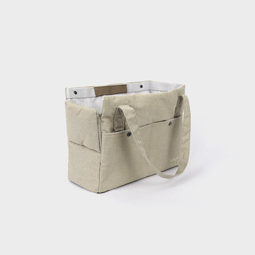 Howlpot day bag in cream lemon