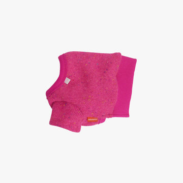 Dodu Knit dog sweater in Rose