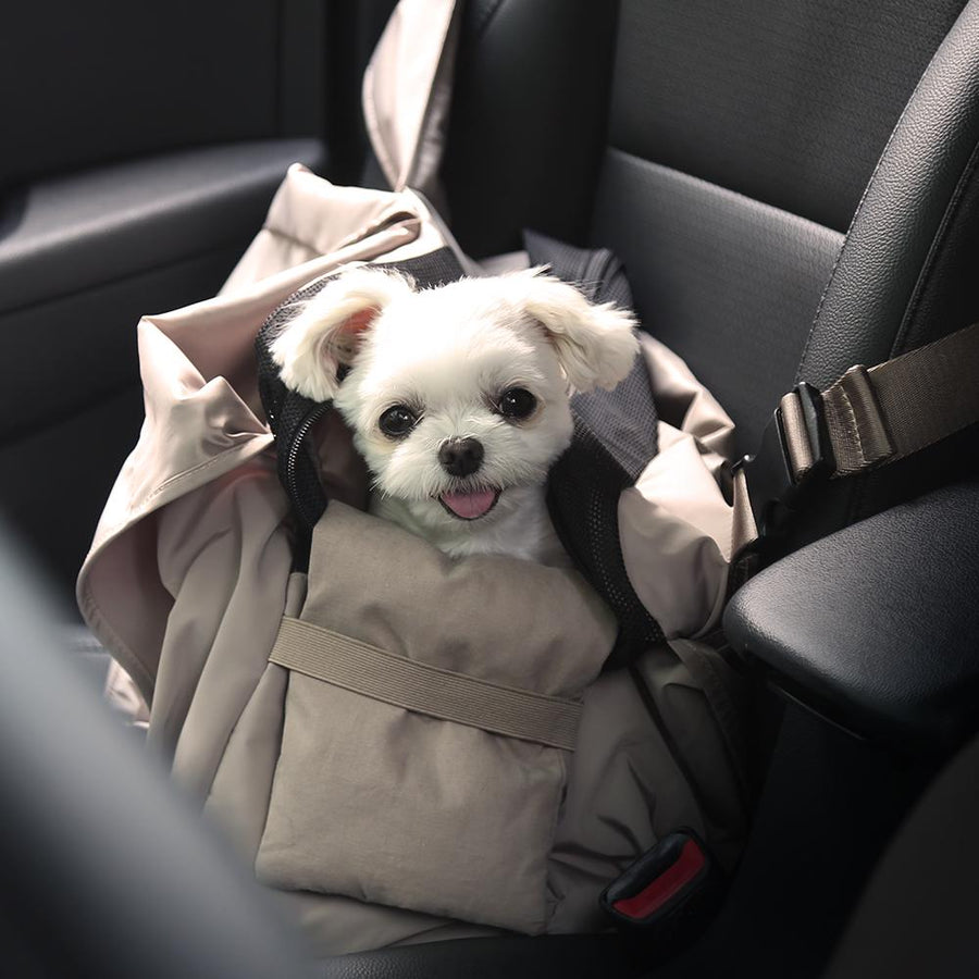 myfluffy hidden bag car seat