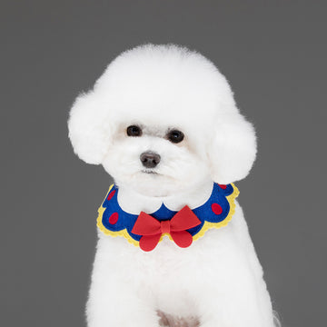 snow white dog cape