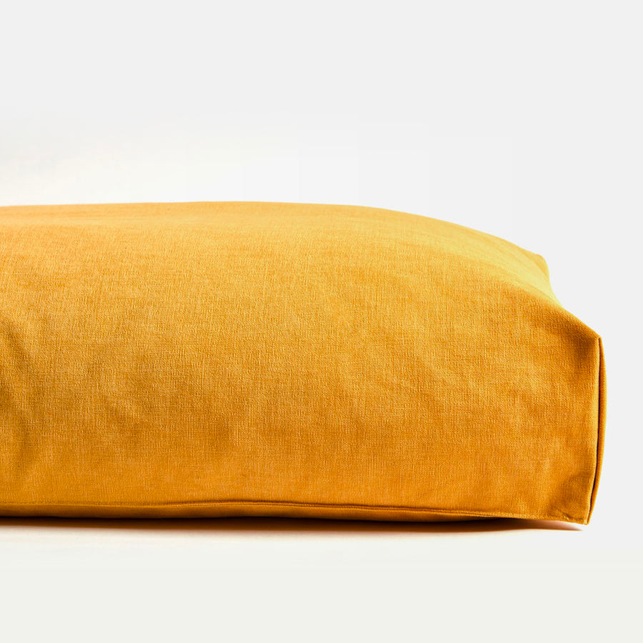 minimalist microfiber simple cushion dog bed