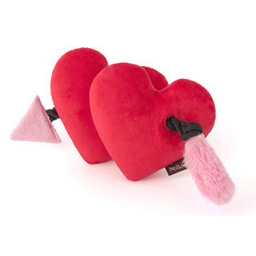 Fur-ever Hearts dog tug toy