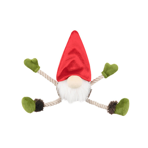 Gnome dog toy by P.L.A.Y.