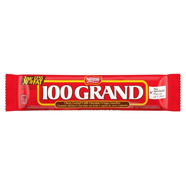 100 Grand Bar, 1.5 Oz. - www.inmatecarepackage.net