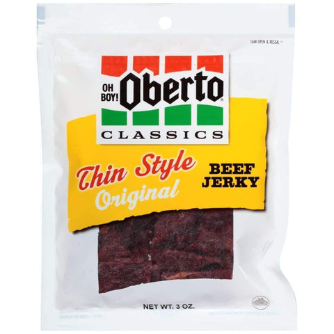3Oz Original Thin Style Beef Jerky - Inmate Care Packages