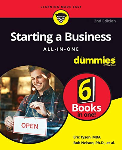 Starting a Business All-in-One For Dummies (For Dummies (Business & Personal Finance)) - www.inmatecarepackage.net