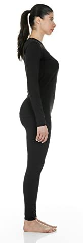Thermajane Women's Ultra Soft Thermal Underwear Long Johns Set with Fleece Lined - Inmate Care Packages
