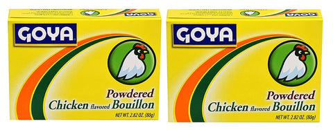 Goya Powdered Chicken Buillon 2.82 oz (2 pack) - www.inmatecarepackage.net