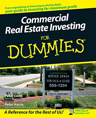 Commercial Real Estate Investing For Dummies - Inmate Care Packages