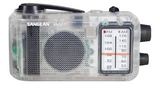 CLEAR AM/FM WIND-UP RADIO - www.inmatecarepackage.net