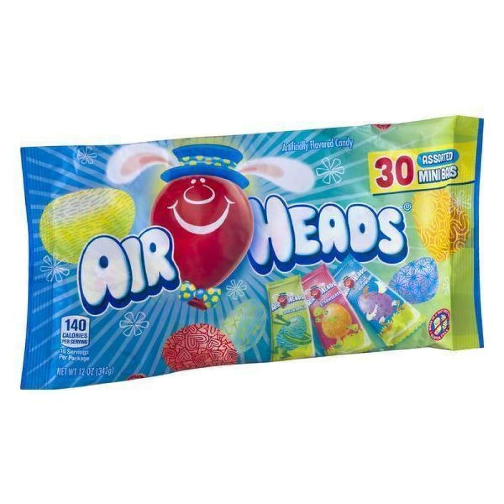 Airheads Mini, 12 Oz Bag - www.inmatecarepackage.net