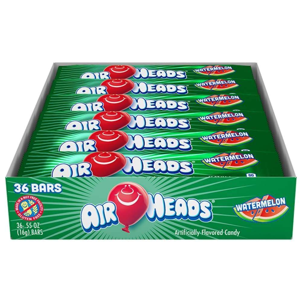 Airheads Watermelon 36Ct 0.55 Oz. Bars - Inmate Care Packages