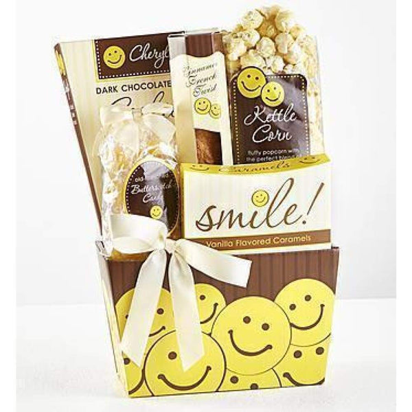 All Smiles Sweets & Treats Gift Basket - www.inmatecarepackage.net