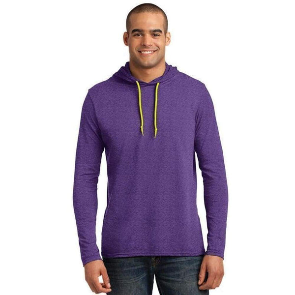 Anvil Adult Light Weight Long Sleeve Hoodie - www.inmatecarepackage.net