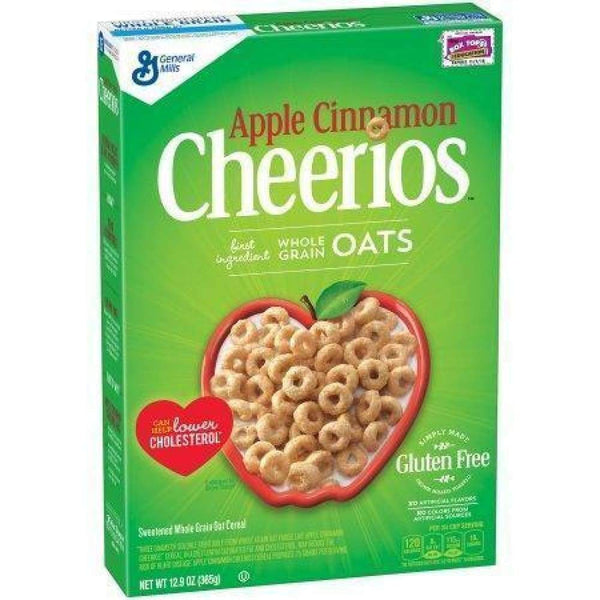 Apple Cinnamon Cheerios, 12.9 Oz. - www.inmatecarepackage.net