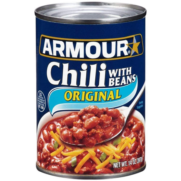 Armour Chili 14Oz - www.inmatecarepackage.net
