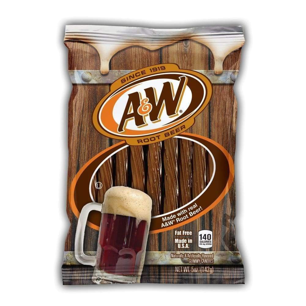 A&w Rootbeer Twists, 5 Oz. - www.inmatecarepackage.net
