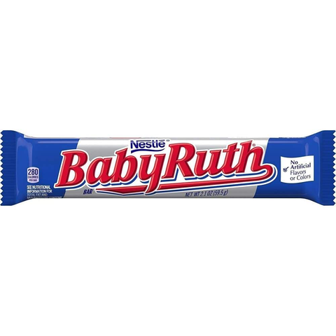 Baby Ruth Candy Bar - www.inmatecarepackage.net