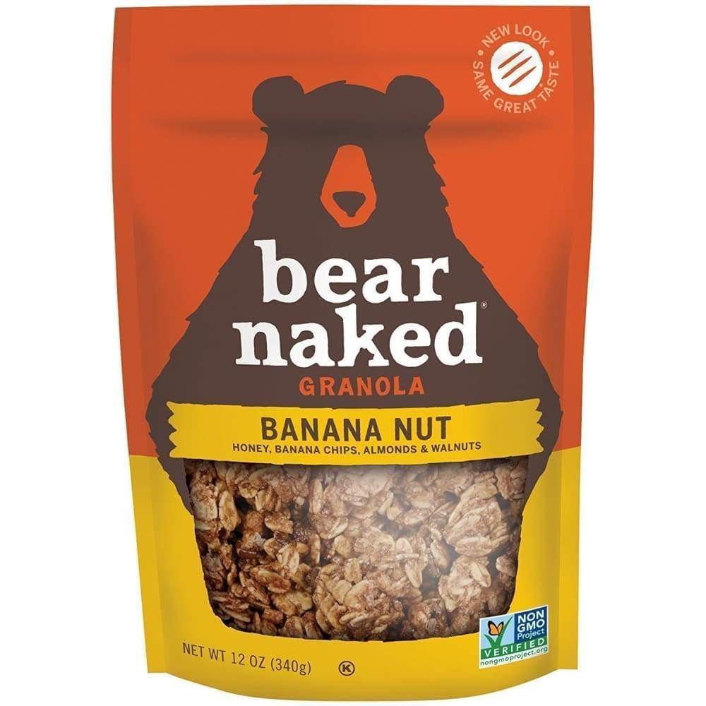 Bear Naked Cereal All Natural Granola Banana Nut - www.inmatecarepackage.net