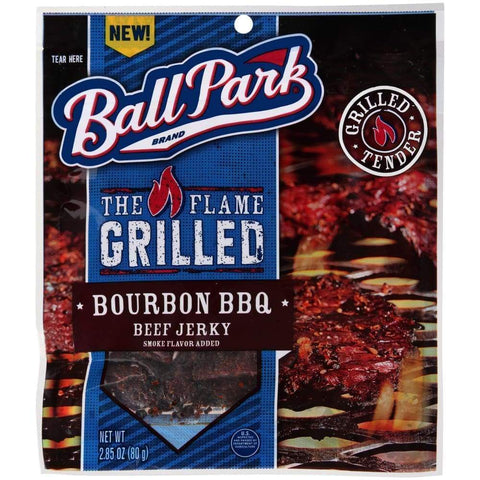 Beef Jerky Bourbon Bbq 2.85 Ounce - Inmate Care Packages