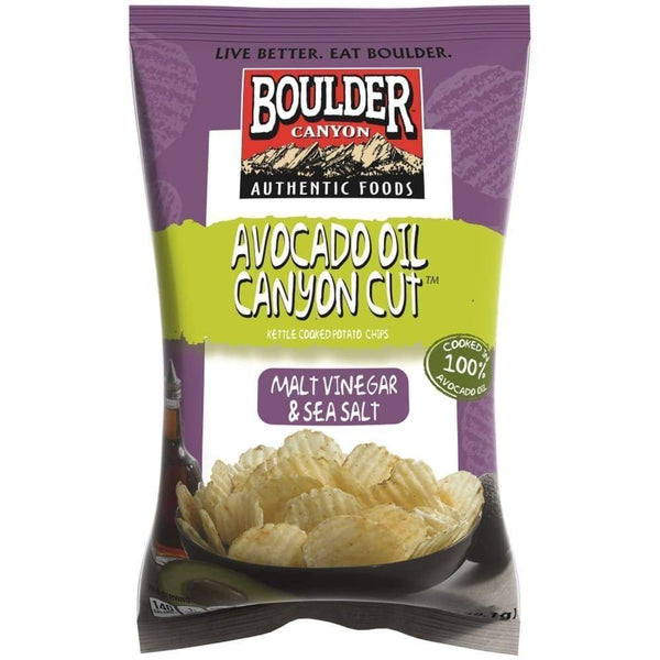 Boulder Canyon Avacado Oil/Sea Salt Kettle Chip 1.65 Ounces - www.inmatecarepackage.net