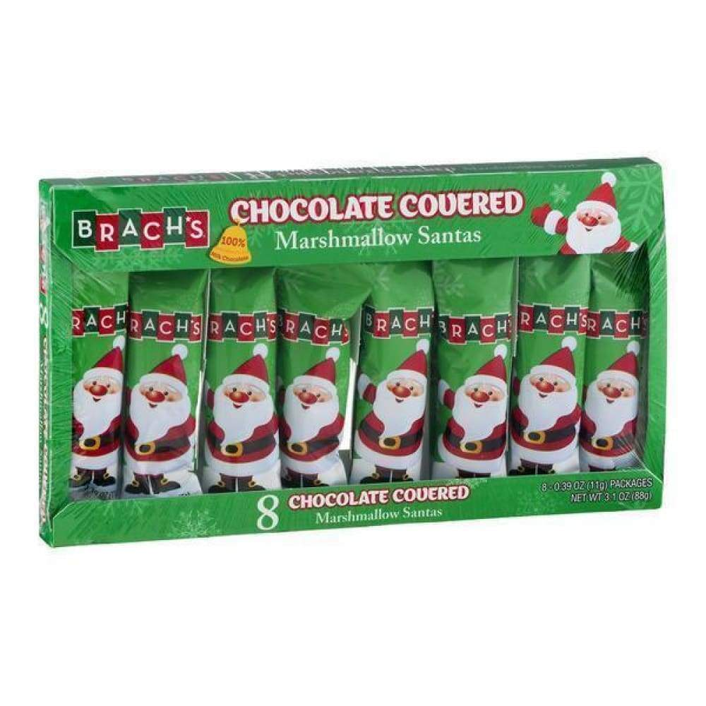 Brachs Chocolate Mallo Santa, 3.1 Oz. - www.inmatecarepackage.net