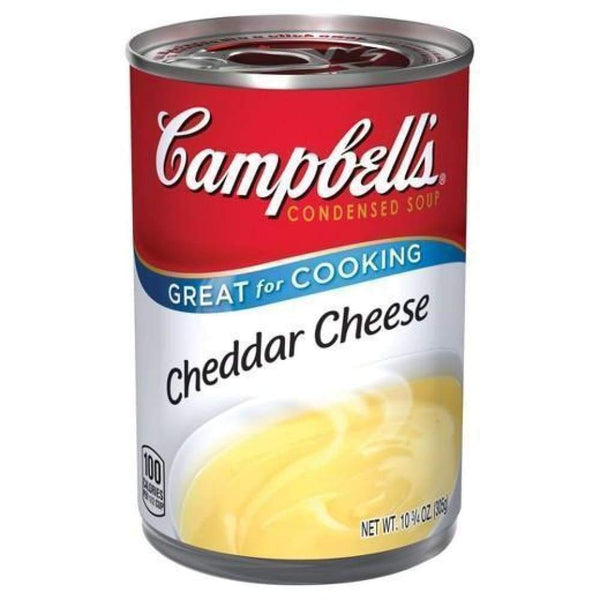 Campbell's Condensed Soup Cheddar Cheese 10.5Oz - www.inmatecarepackage.net