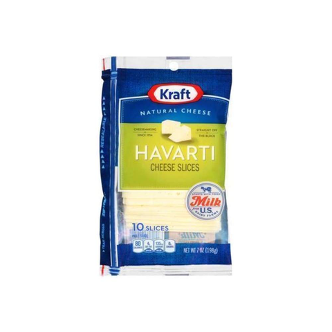 Cheese Havarti Narrow Base Slice - www.inmatecarepackage.net