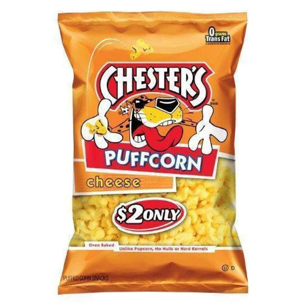 Chesters Puff Cheese - www.inmatecarepackage.net