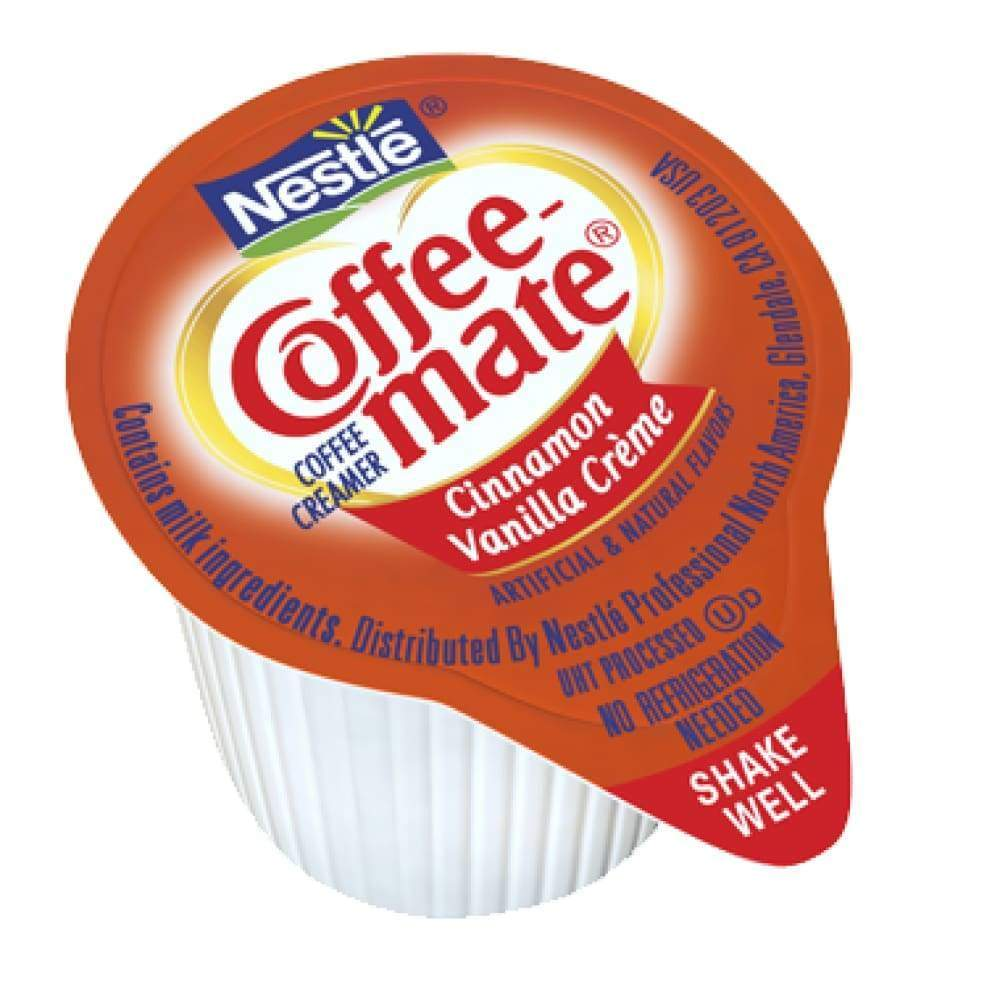 Coffee-Mate Cinnamon Vanilla Cream Liquid  .375 Oz. - Inmate Care Packages