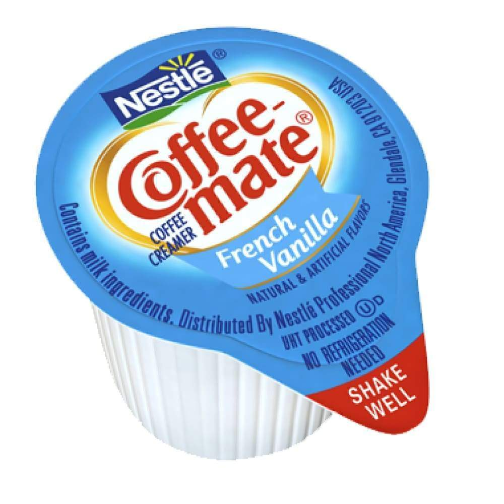 Coffee-Mate French Vanilla Liquid .375 Oz - www.inmatecarepackage.net