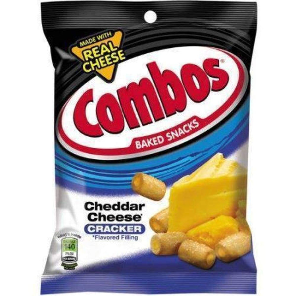 Combo Snack Cheddar Cheese Cracker 6.3Oz - Inmate Care Packages