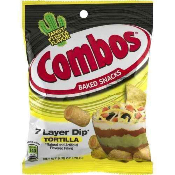 Combos 7 Lyr Dip Trtla 6.3Oz - Inmate Care Packages