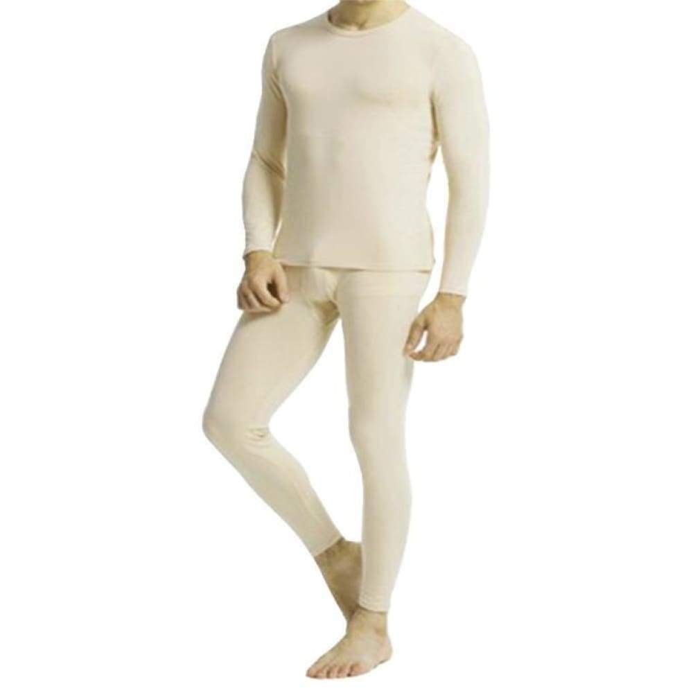 Cotton Plus - Men's Thermal Underwear Set Top And Bottom - www.inmatecarepackage.net