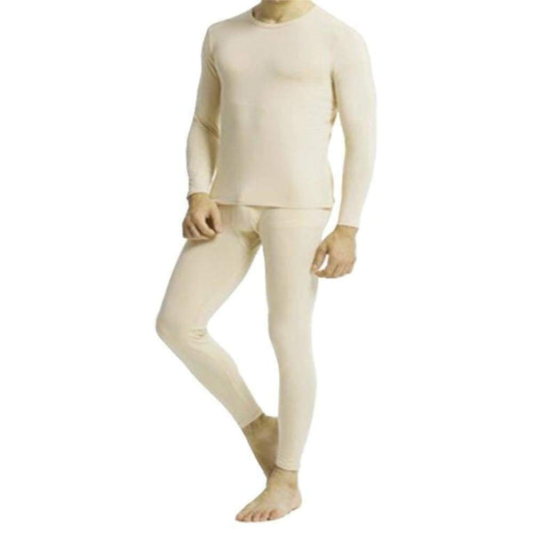 Cotton Plus - Men's Thermal Underwear Set Top And Bottom - Inmate Care Packages