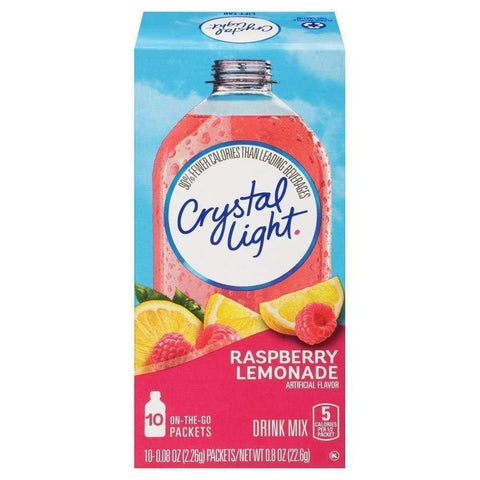 Crystal Light On The Go Powdered Soft Drink Raspberry Lemonade - Inmate Care Packages