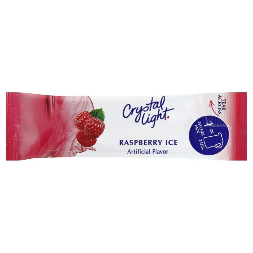 Crystal Light Powdered Soft Drink Raspberry Ice Sugar Free - Inmate Care Packages